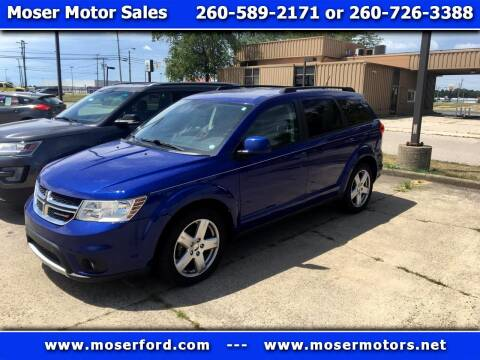 2012 Dodge Journey for sale at Moser Motors Of Portland in Portland IN