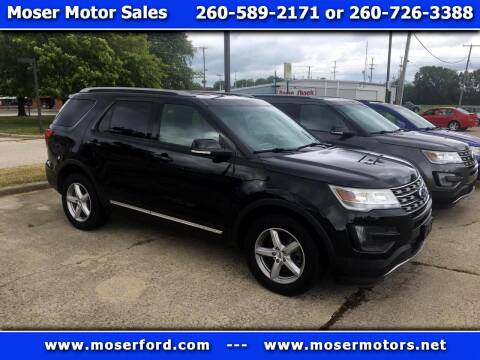 2016 Ford Explorer for sale at Moser Motors Of Portland in Portland IN