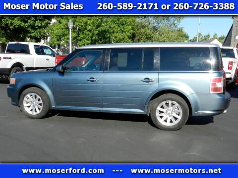 2010 Ford Flex for sale at Moser Motors Of Portland in Portland IN