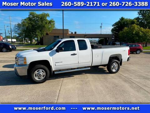 2013 Chevrolet Silverado 2500HD for sale at Moser Motors Of Portland in Portland IN