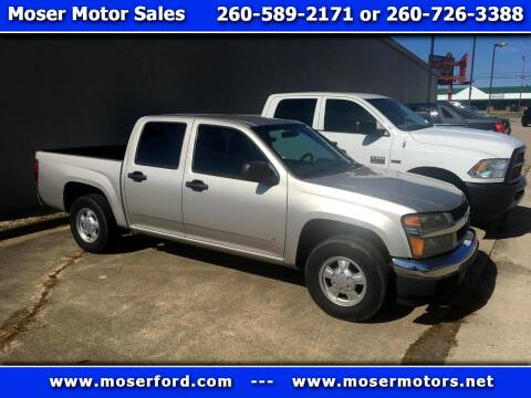 2007 Chevrolet Colorado for sale at Moser Motors Of Portland in Portland IN