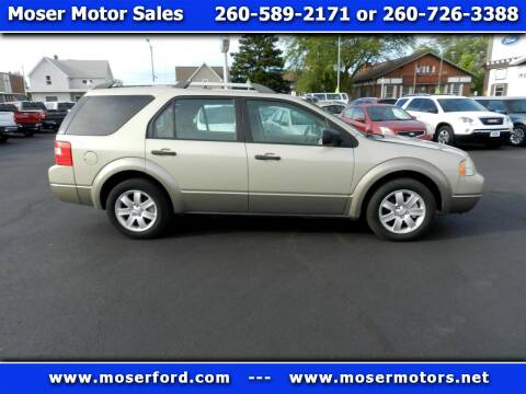 2006 Ford Freestyle for sale at Moser Motors Of Portland in Portland IN
