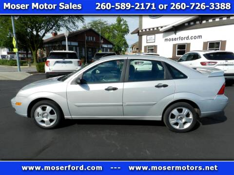 2007 Ford Focus for sale at Moser Motors Of Portland in Portland IN