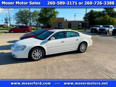 2011 Buick Lucerne for sale at Moser Motors Of Portland in Portland IN