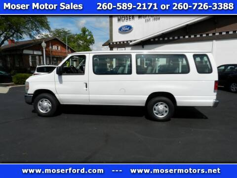 2013 Ford E-Series Wagon for sale at Moser Motors Of Portland in Portland IN