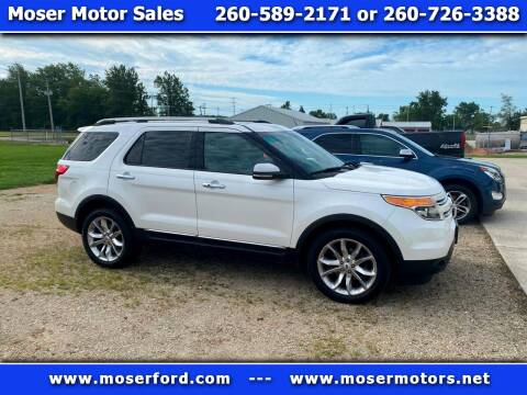 2013 Ford Explorer for sale at Moser Motors Of Portland in Portland IN