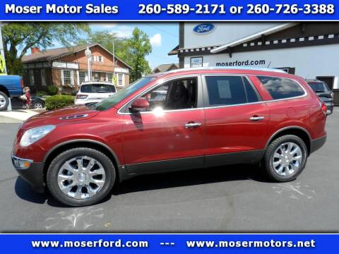 2010 Buick Enclave for sale at Moser Motors Of Portland in Portland IN
