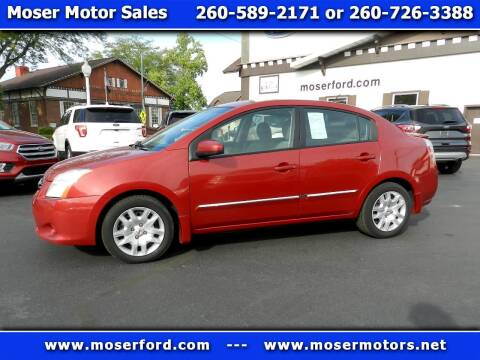 2011 Nissan Sentra for sale at Moser Motors Of Portland in Portland IN