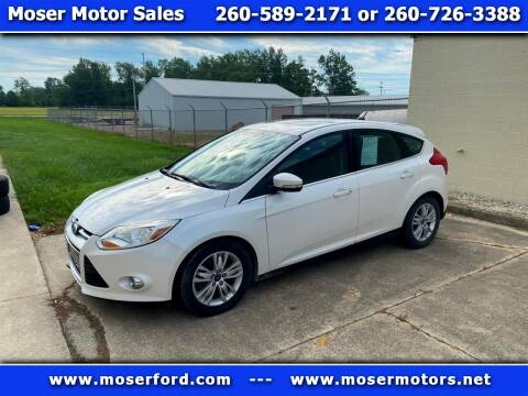 2012 Ford Focus for sale at Moser Motors Of Portland in Portland IN