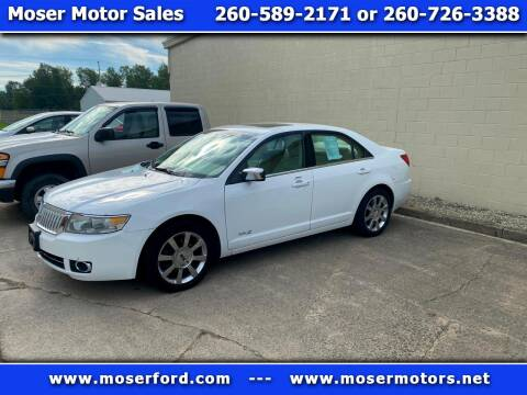 2007 Lincoln MKZ for sale at Moser Motors Of Portland in Portland IN