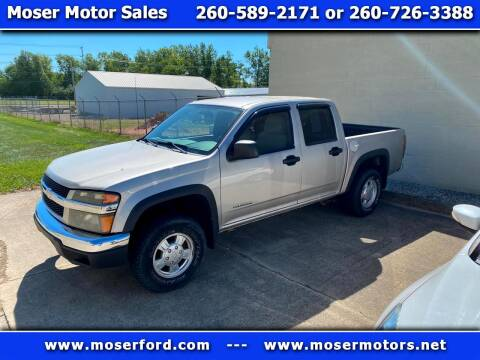 2005 Chevrolet Colorado for sale at Moser Motors Of Portland in Portland IN