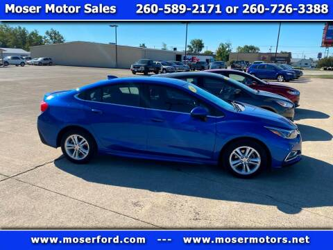 2017 Chevrolet Cruze for sale at Moser Motors Of Portland in Portland IN
