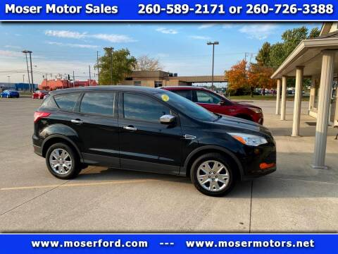 2013 Ford Escape for sale at Moser Motors Of Portland in Portland IN