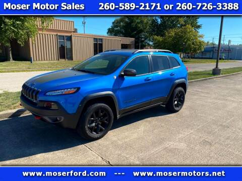 2017 Jeep Cherokee for sale at Moser Motors Of Portland in Portland IN