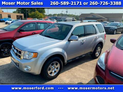 2011 Ford Escape for sale at Moser Motors Of Portland in Portland IN