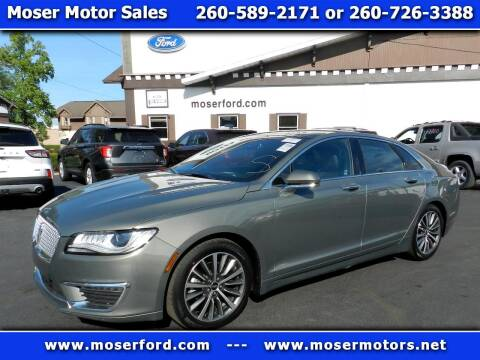 2017 Lincoln MKZ Hybrid for sale at Moser Motors Of Portland in Portland IN