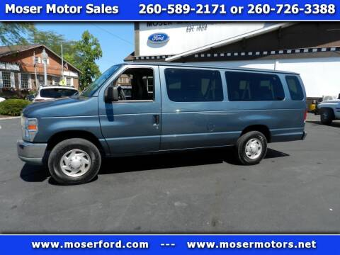 2012 Ford E-Series Wagon for sale at Moser Motors Of Portland in Portland IN