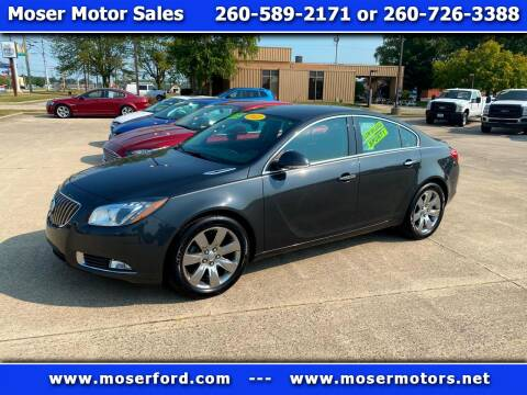 2013 Buick Regal for sale at Moser Motors Of Portland in Portland IN