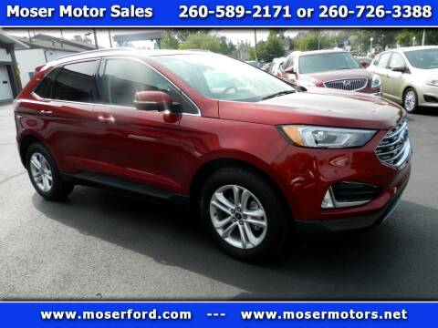 2019 Ford Edge for sale at Moser Motors Of Portland in Portland IN
