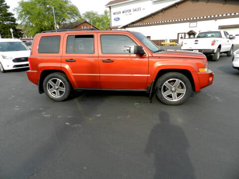 2009 Jeep Patriot for sale at Moser Motors Of Portland in Portland IN