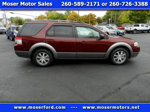 2008 Ford Taurus X for sale at Moser Motors Of Portland in Portland IN