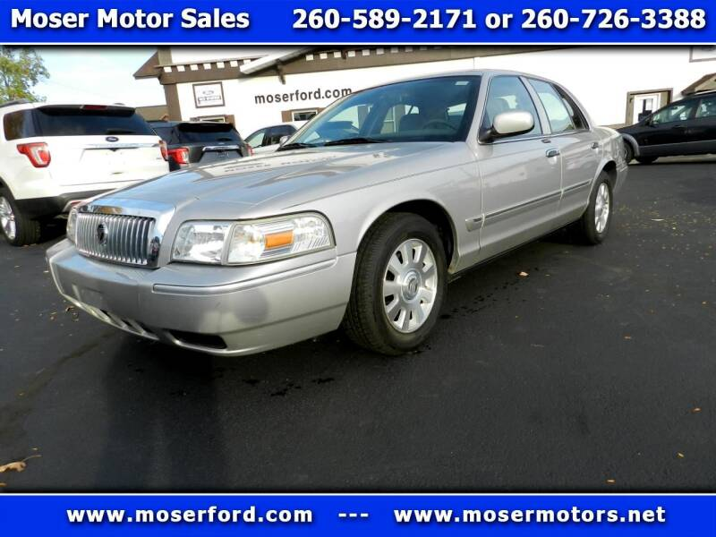 2006 Mercury Grand Marquis for sale at Moser Motors Of Portland in Portland IN