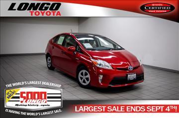 2012 Toyota Prius for sale in El Monte, CA