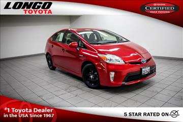 2015 Toyota Prius for sale in El Monte, CA