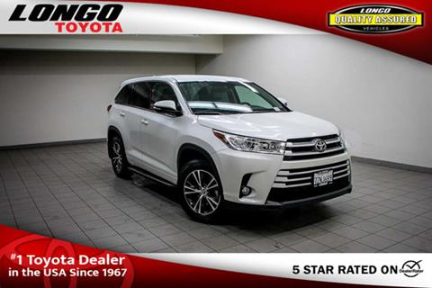 2017 Toyota Highlander for sale in El Monte, CA