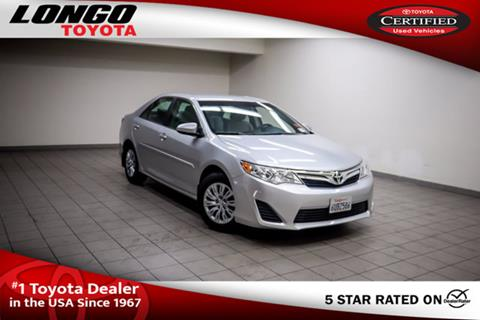 2012 Toyota Camry for sale in El Monte, CA