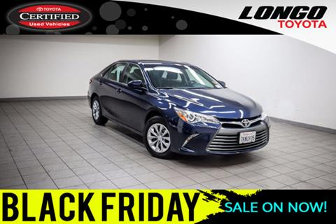 2016 Toyota Camry for sale in El Monte, CA