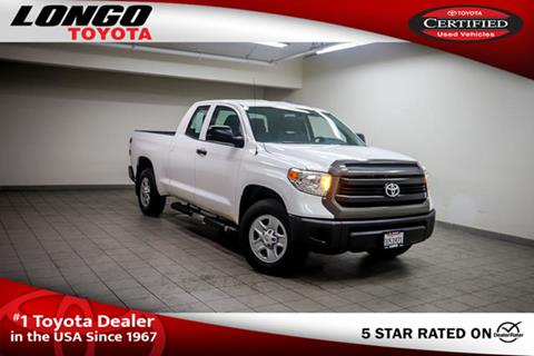 2016 Toyota Tundra for sale in El Monte, CA