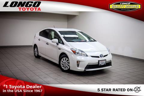 2013 Toyota Prius Plug-in Hybrid for sale in El Monte, CA