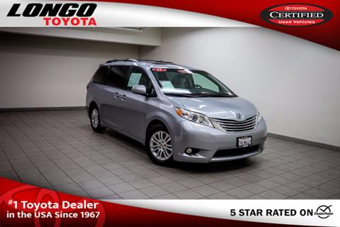 2015 Toyota Sienna for sale in El Monte, CA