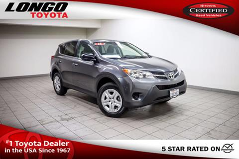 2015 Toyota RAV4 for sale in El Monte, CA