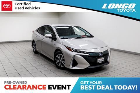 2017 Toyota Prius Prime for sale in El Monte, CA