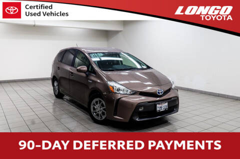 2017 Toyota Prius v Two for sale at Longo Toyota Scion in El Monte CA