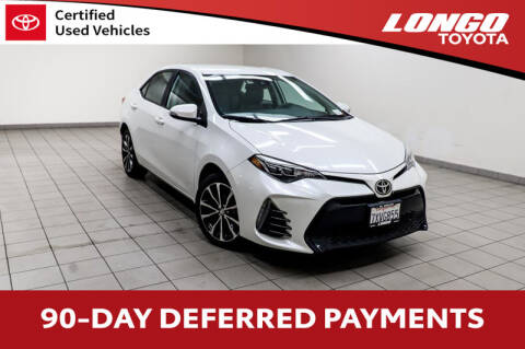 2017 Toyota Corolla for sale at Longo Toyota Scion in El Monte CA