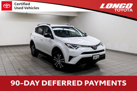 2017 Toyota RAV4 LE for sale at Longo Toyota Scion in El Monte CA