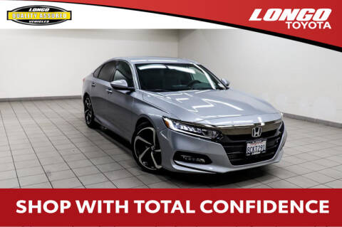 2018 Honda Accord Sport for sale at Longo Toyota Scion in El Monte CA