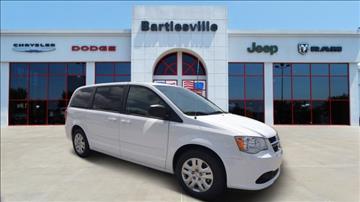 2017 Dodge Grand Caravan for sale in Bartlesville, OK