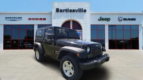 2017 Jeep Wrangler for sale in Bartlesville, OK