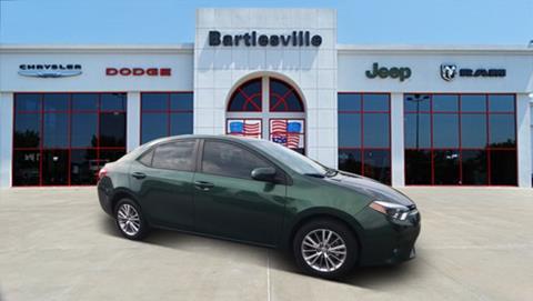 2014 Toyota Corolla for sale in Bartlesville, OK