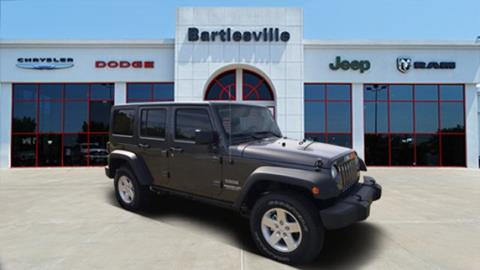 2017 Jeep Wrangler Unlimited for sale in Bartlesville, OK