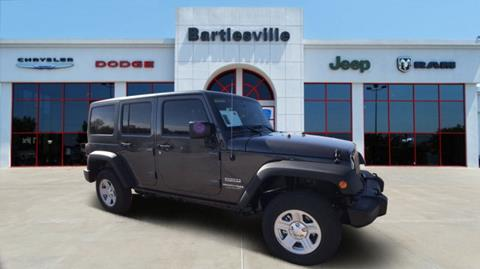 2018 Jeep Wrangler Unlimited for sale in Bartlesville, OK