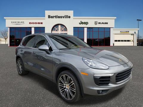 2016 Porsche Cayenne for sale in Bartlesville, OK