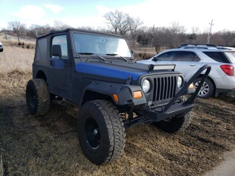 2004 Jeep Wrangler for sale in Bartlesville, OK