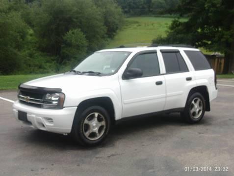 2007 Chevrolet TrailBlazer for sale in Kittanning, PA