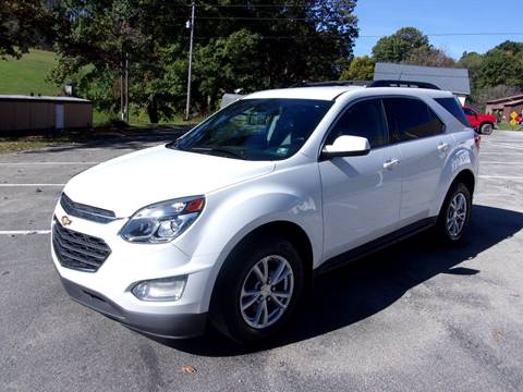 2016 Chevrolet Equinox for sale in Kittanning, PA