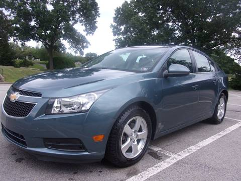 2012 Chevrolet Cruze for sale in Kittanning, PA
